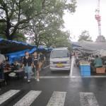 【旅行】高知市 追手筋『日曜市』は漬け物のカホリ