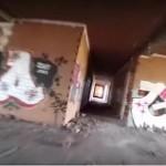 マルチコプターで廃墟×グラフィティを空撮した映像がド迫力!