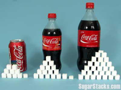 コーラ,砂糖