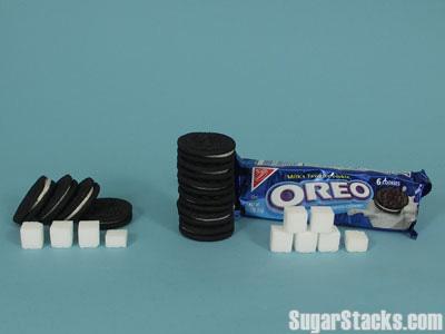 オレオ,砂糖