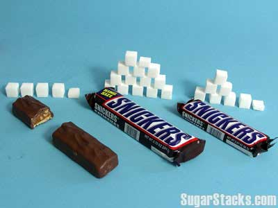 スニッカーズ 砂糖