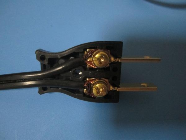 コンセントプラグ修理 (2)