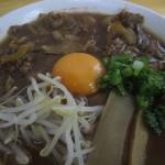 【徳島】徳島ラーメン『春陽軒』の肉玉入り中華そば!肉多すぎ!