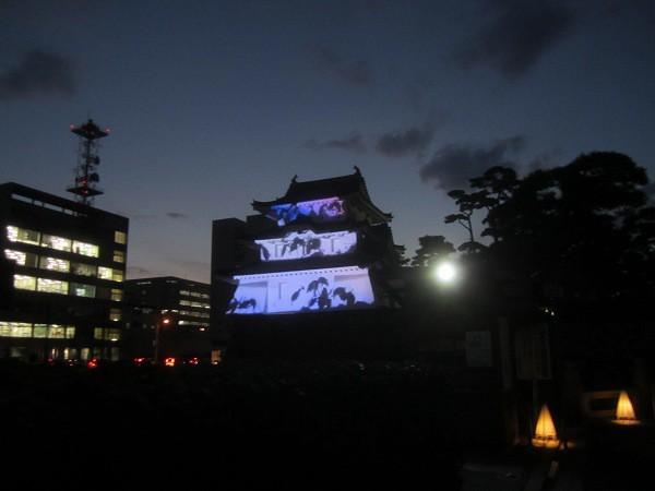 夜の玉藻公園 (2)