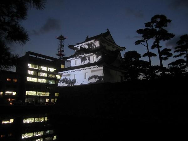 夜の玉藻公園 (4)