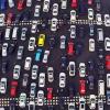 地球一の渋滞動画!中国の高速道路の交通渋滞が酷い。