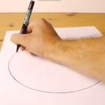 【動画】これは実用的!そこそこ奇麗な『円』をフリーハンドで描く方法