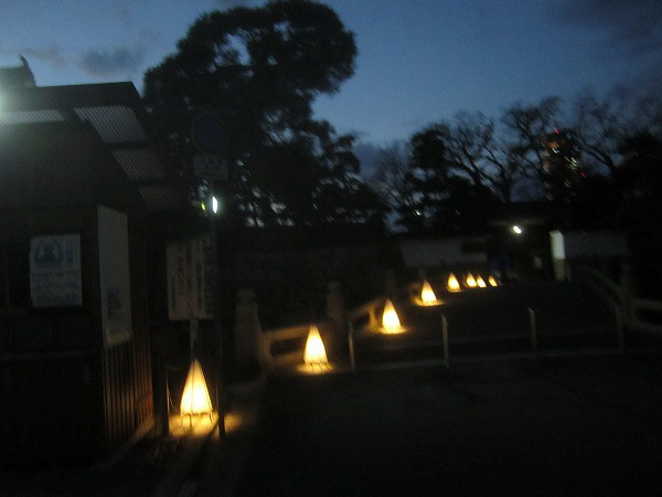 夜の玉藻公園 (3)