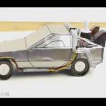 生ゴミを燃料とする『デロリアン』を逆にゴミをリサイクルして作る動画
