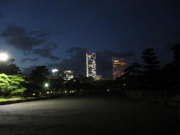 夜の玉藻公園 (9)