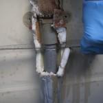 【修理方法】使わない水道管が凍結で水漏れ!DIYで修理したらたった500円でした!