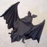 蝙蝠(コウモリ)を折り紙で作りたいので、世界中から折り方の動画集めました。