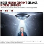 米大統領選挙でヒラリー・クリントンが当選で宇宙人の秘密を暴露するって!