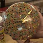 【DIY】色鉛筆で壁掛け時計を作ったらこうなる!スゴイ!欲しい!と思ふ動画