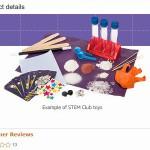 【Amazon】米国で『STEM Club』という知育玩具が送られてくるサービス開始!